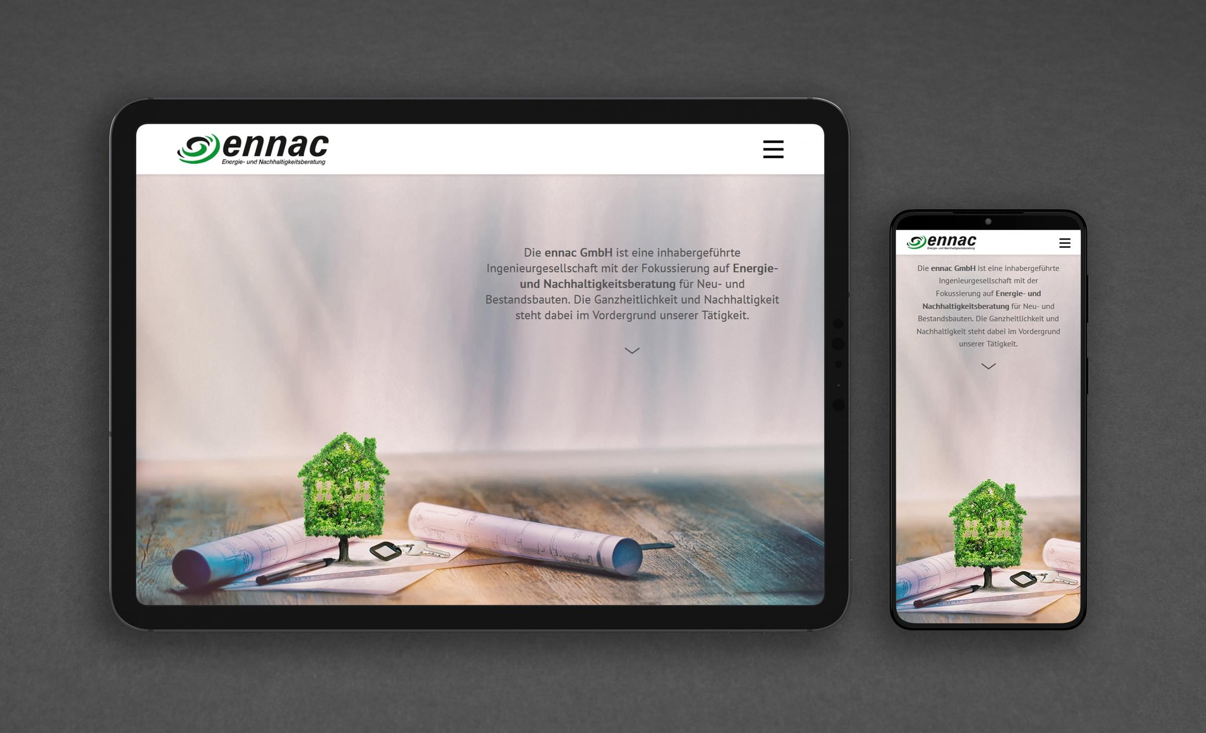 ennac - responsives Webdesign