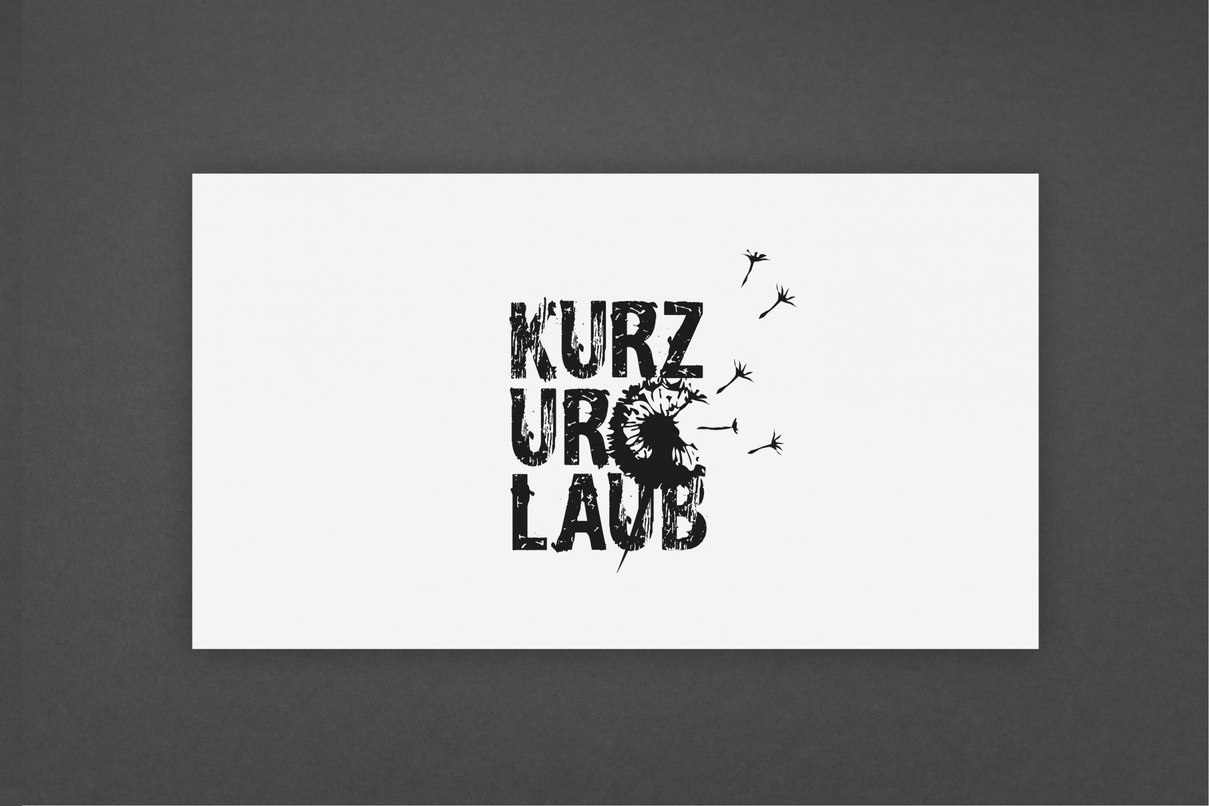 Logogestaltung Kurzurlaub Band