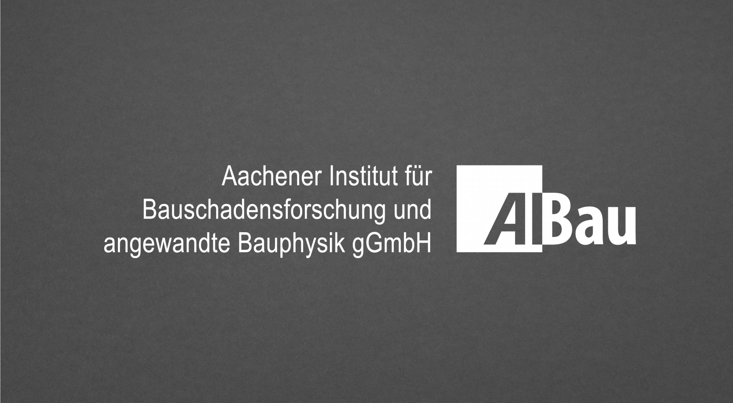 AIBau Aachen Logoredesign horizontale Anordnung