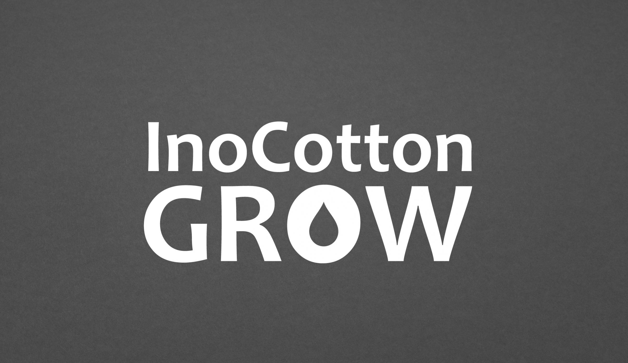 InoCottonGrow Logo weiß auf schwarz