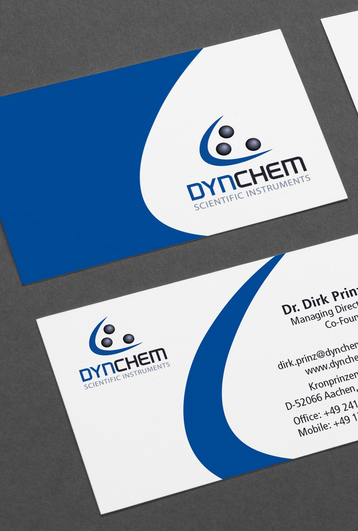 Dynchem Gestaltung Visitenkarten Aachen