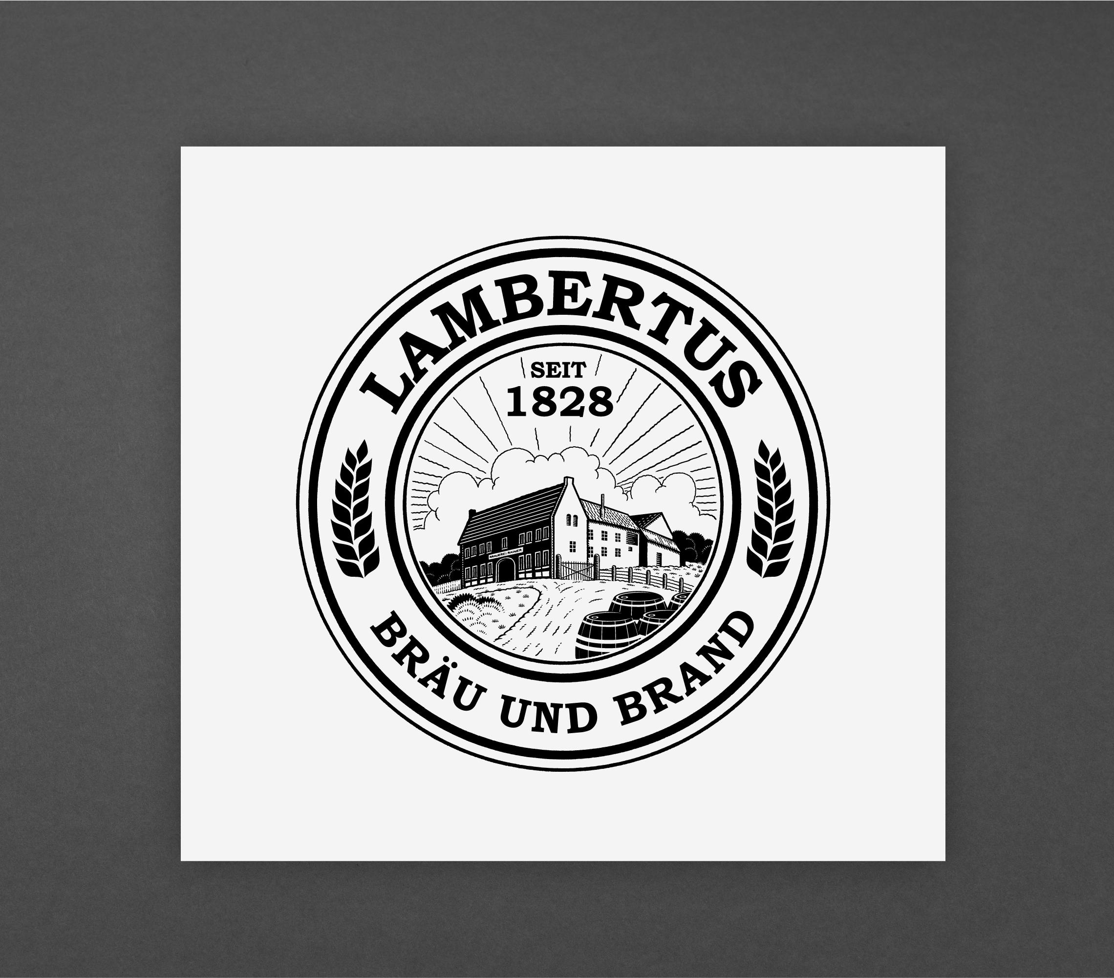 Lambertus Bräu & Brand Logo Redesign